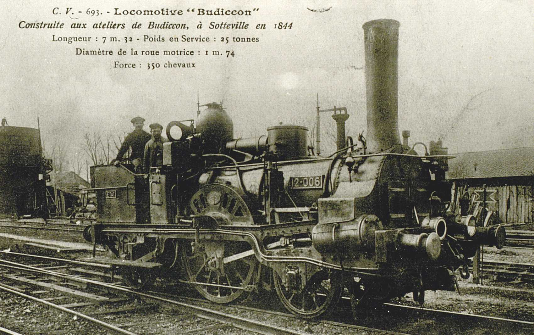 Budiccom locomotive