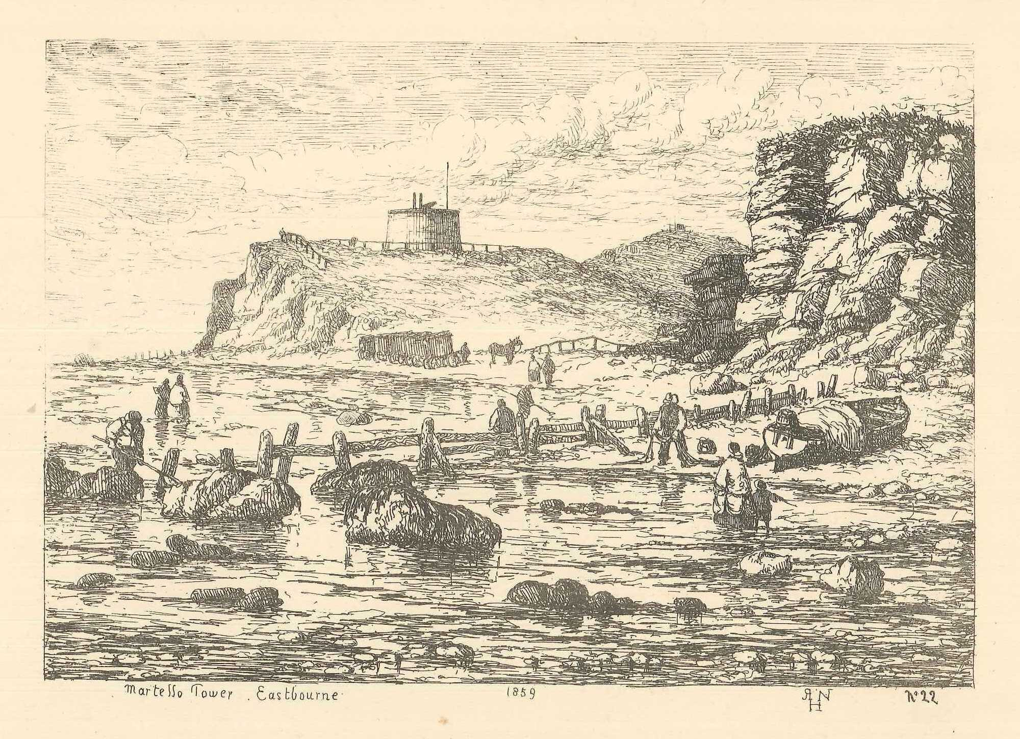View of Eastbourne, by Henry Nibbs