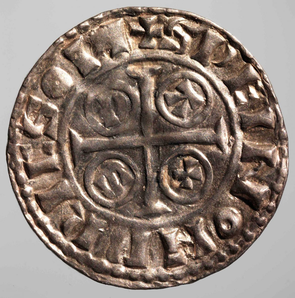 Silver pennies from William the Conqueror