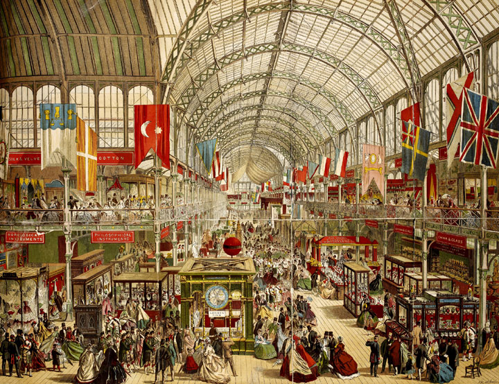 The Great Exhibition at Crystal Palace, 1851
