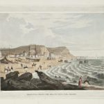 Rolling bathing machines at Hastings Beach by Robert Havell, early 19th century © Hastings Museum and Art Gallery, cat. 5